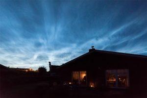 Ferienhaus-Küstenkoje-Sommernacht
